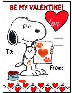 Snoopy Valentine Gifts !