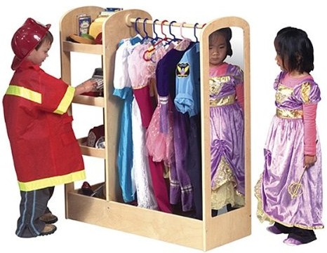 A Dress Up Storage Unit Would Make A Unique Gift For Any Little Girl Or Boy  Who Enjoys Playing Dress Up. There Are Many Styles Available, So You Are  Sure To ...