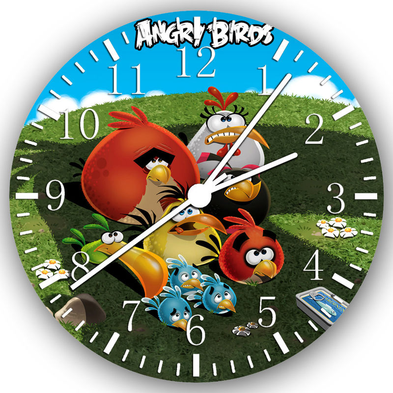 Pin angry birds room hd wallpaper on pinterest for Angry bird wall mural